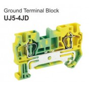 UJ5-4JD Ground Terminal Block