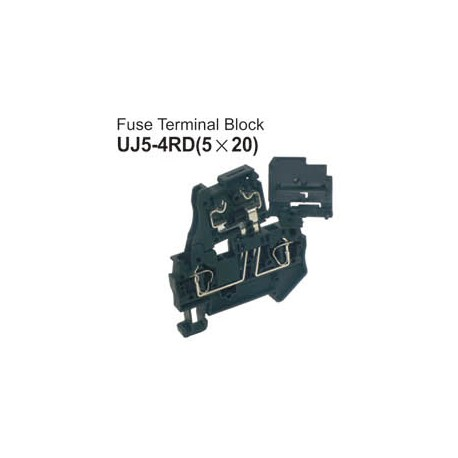 UJ5-4RD Fuse Terminal Block