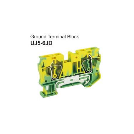 UJ5-6JD Ground Terminal Block