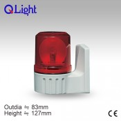 S80AU Bulb Revolving Warning Light