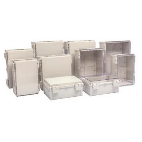 Q Series, Plastic Box w/ Hinge & Latch