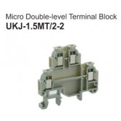 UKJ-1.5MT/2-2 Micro Double-Level Terminal Block