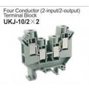 UKJ-10/2x2 Four Conductor Terminal Block