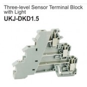 UKJ-DKD1.5 Three-Level Sensor Terminal Block with Light