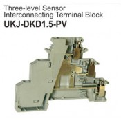 UKJ-DKD1.5-PV Three-Level Sensor Interconnecting Terminal Block