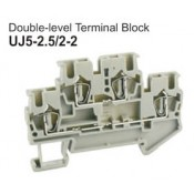 UJ5-2.5/2-2 Double-Level Terminal Block