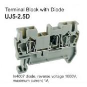 UJ5-2.5D Terminal Block (Diode)